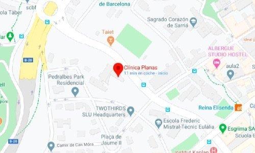 mapa clinica dr tarragona